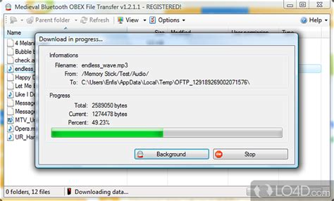 Bluetooth File Transfer (PC) - Download