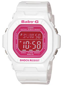 G-Shock Baby-G Watch - White / White / Pink For Sale at