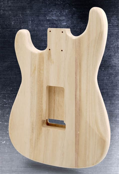 Unfinished Lightweight Stratocaster® Style HS Body