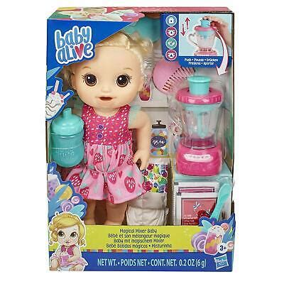 Baby Alive Magical Mixer Baby Doll Strawberry Shake