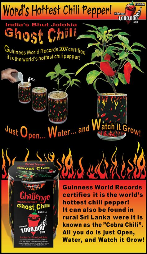 Ghost Chili Pepper - Bhut Jolokia: How to Grow Ghost Chili