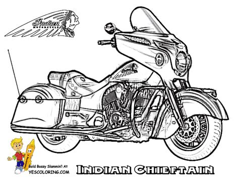 Mighty Motorcycle Coloring Page | Free | Motorcycle | Dirt