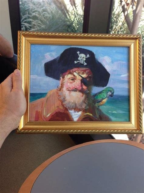 This is the original Painty the Pirate from the theme song