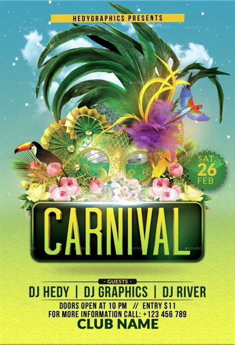 FREE 34+ Modern Carnival Flyer Templates in PSD | AI | MS