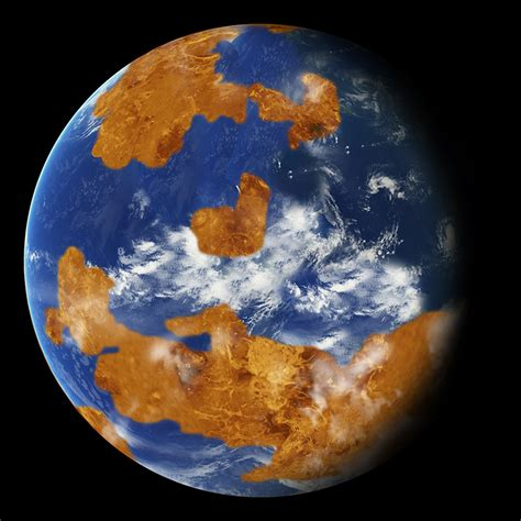 NASA climate modeling suggests Venus may have been