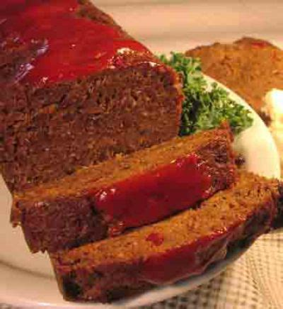 Rice Meatloaf Recipe, Whats Cooking America