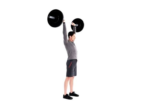 Overhead Barbell Press Exercise Video Guide | Muscle & Fitness