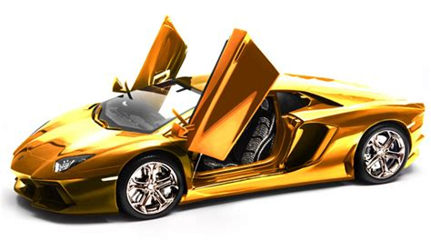 Most Expensive Model Car In the World: Solid Gold