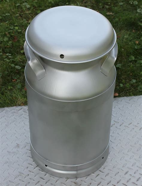 New Stainless Made In The USA 5 Gallon Milk Can
