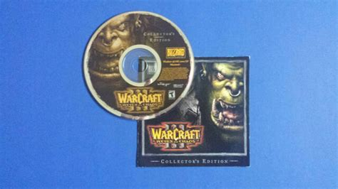 Warcraft III Reign of Chaos and Frozen Throne PC-CD ROM