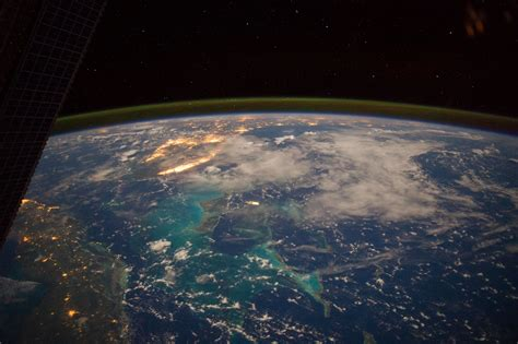Caribbean Sea Viewed From the International Space Station