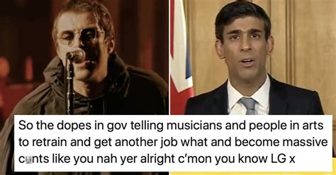 Liam Gallagher's NSFW takedown of Rishi Sunak went viral