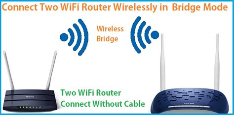 Connect two WiFi routers wirelessly Without Cable [Bridge