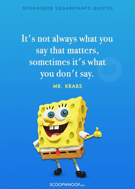 Quotes From Spongebob Squarepants That Teach Valuable Lessons