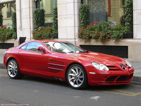 Red Mercedes SLR   /! OLD SHOT Incredibly beautiful red