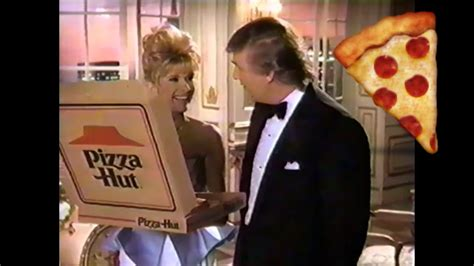 Donald and Ivana Trump's Old Pizza Hut Commercial - YouTube